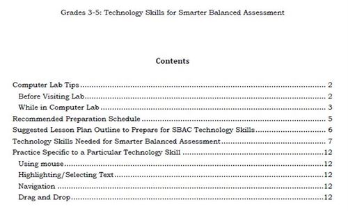 image relating to Printable Sbac Practice Test identified as Grace Miller Basic - SBAC Abilities Materials